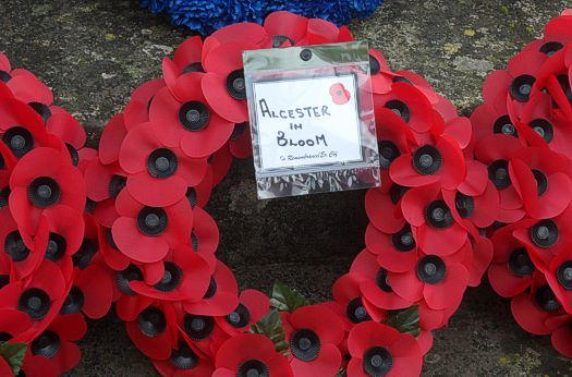 The Alcester in Bloom Wreath 2020